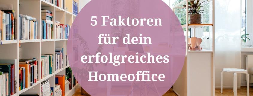 5 faktoren homeoffice