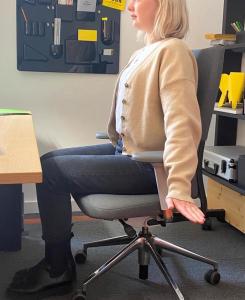 Ergonomie Übungen gegen Rückenschmerzen